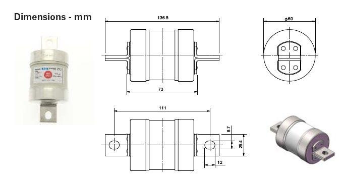 tmf gg low voltage fuses 660
